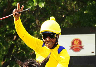 Mosia hopes to win the work-riders' title