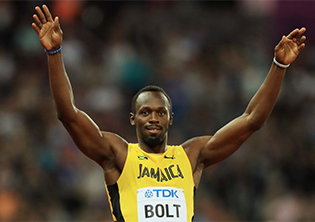 Usain Bolt sprints to SA for Sun Met